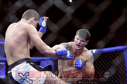 Steve Cantwell and Brian Stann at WEC 35