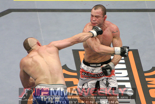 Chuck Liddell and Wanderlei Silva at UFC 79
