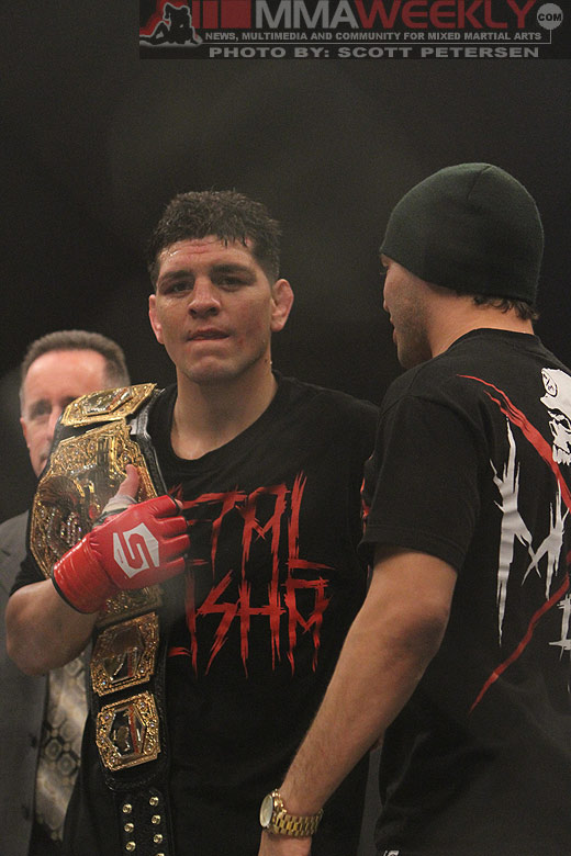 Strikeforce champion Nick Diaz