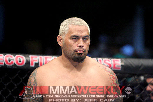 Mark Hunt at UFC 119