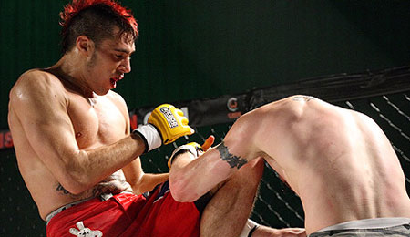 Dan Hardy at Cage Warriors 6