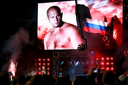 Fedor Emelianenko New Jersey walkout