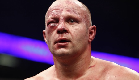 Fedor at fight's end