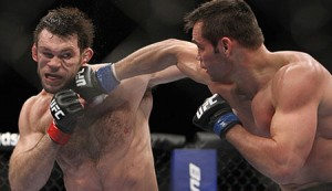 Forrest Griffin and Rich Franklin UFC 126