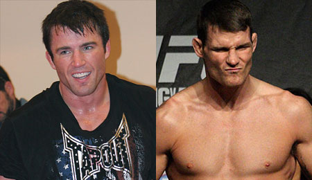 Chael Sonnen and Michael Bisping