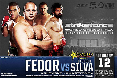 Strikeforce Fedor vs Silva