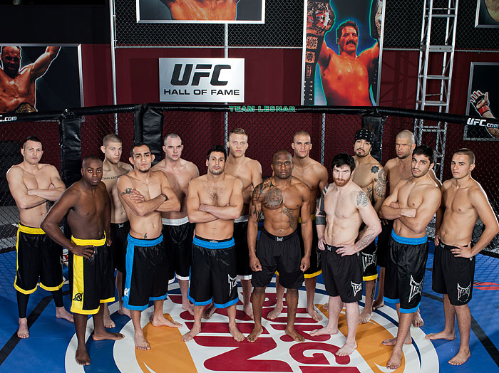 Ultimate Fighter TUF 13 Lesnar vs Dos Santos Cast