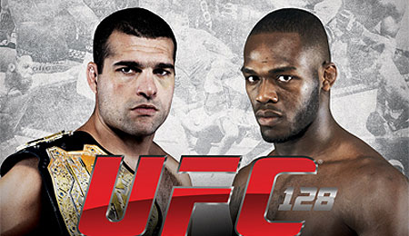 UFC 128 Poster Quick Results