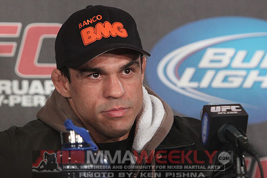 Vitor Belfort at UFC 126
