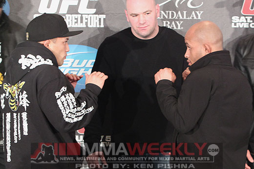 Yamamoto-and-Johnson-UFC-126-Prefight_4827