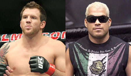 Ryan Bader and Tito Ortiz