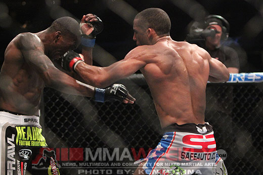 Edson Barboza Anthony Njokuani UFC 128