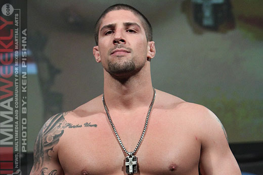Brendan Schaub at UFC 128