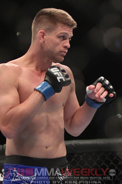 Mike Pyle at UFC 128