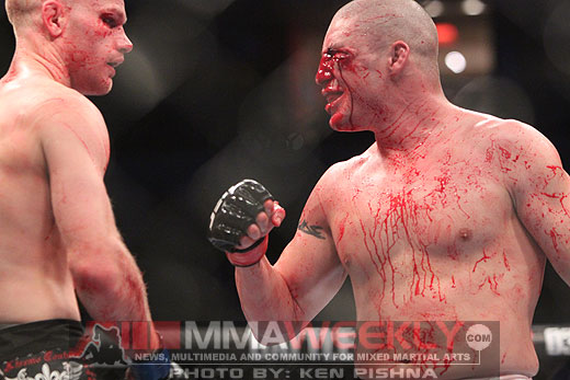Diego Sanchez and Martin Kampmann at UFC on Versus 3