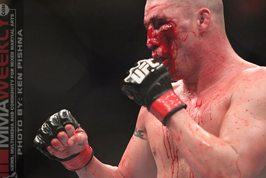 Martin Kampmann and Diego Sanchez at UFC Versus 3
