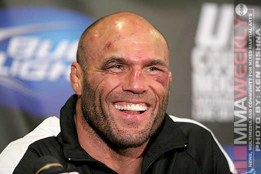 Randy Couture at UFC 102