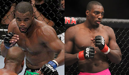 Rashad Evans and Phil Davis UFC 133