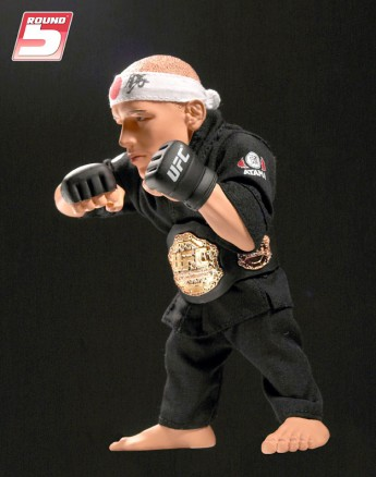 Georges St-Pierre Round 5 UFC 129 Expo Figure