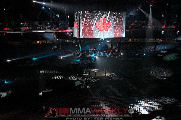 UFC 129 at Rogers Centre in Toronto