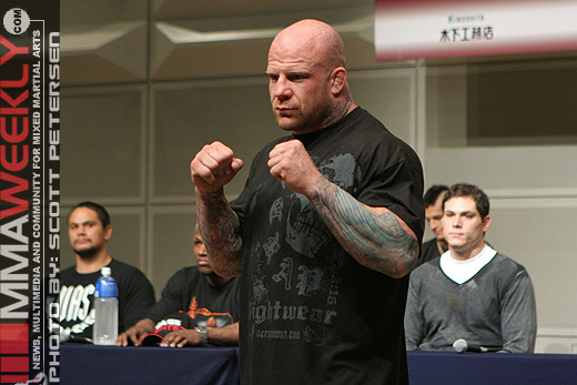 Jeff Monson at Sengoku 2 in Japan