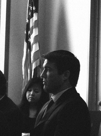 Chael Sonnen at the May 18 CSAC hearing