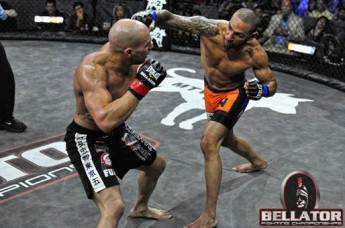 Rick Hawn and Jay Hieron at Bellator 43
