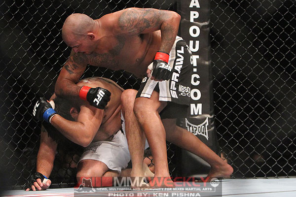 Joey Beltran and Aaron Rosa at UFC 131