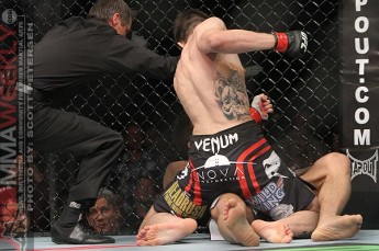 Condit finishes of Kim