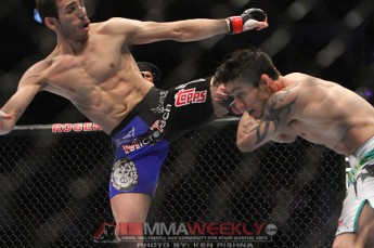 Kenny Florian and Diego Nunes at UFC 131