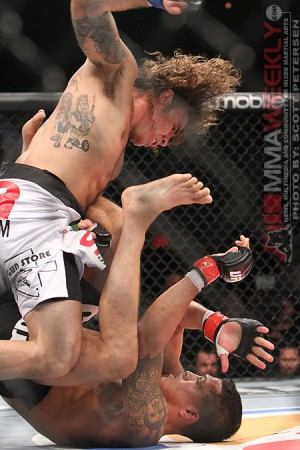 Clay Guida dropping bombs