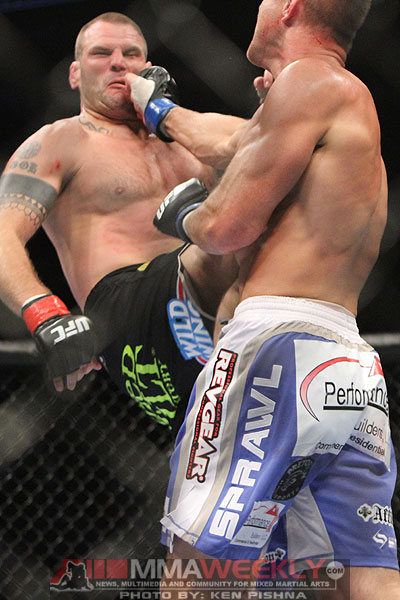 Dave Herman and John-Olav Einemo at UFC 131