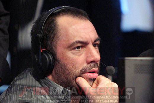 UFC broadcaster Joe Rogan