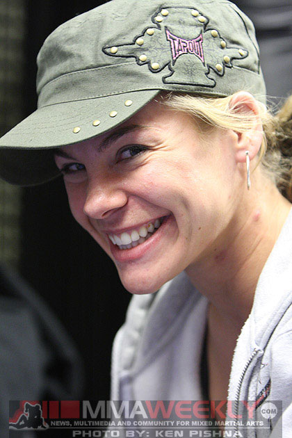 Julie Kedzie at UFC 94