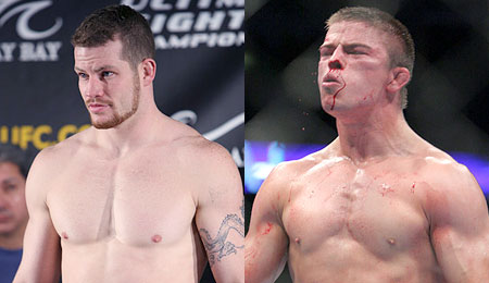 Nate Marquardt and Rick Story