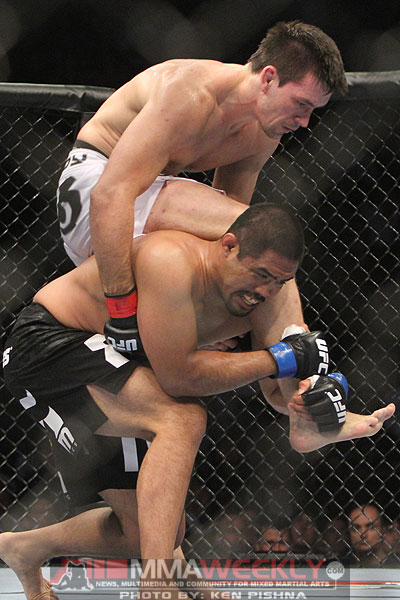 Mark Munoz and Demian Maia at UFC 131