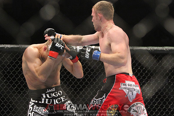 Nick Ring and James Head at UFC 131