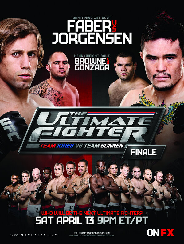 UFC TUF 17 Finale poster