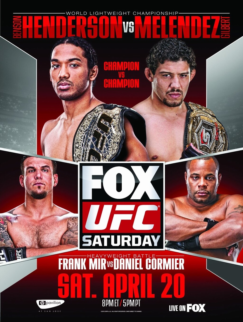 UFC on FOX 7 poster