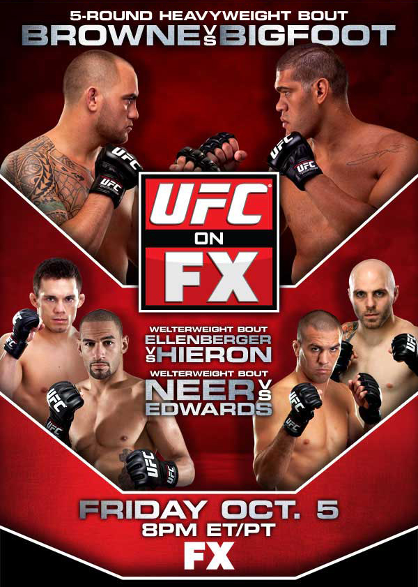 UFC on FX 5 poster