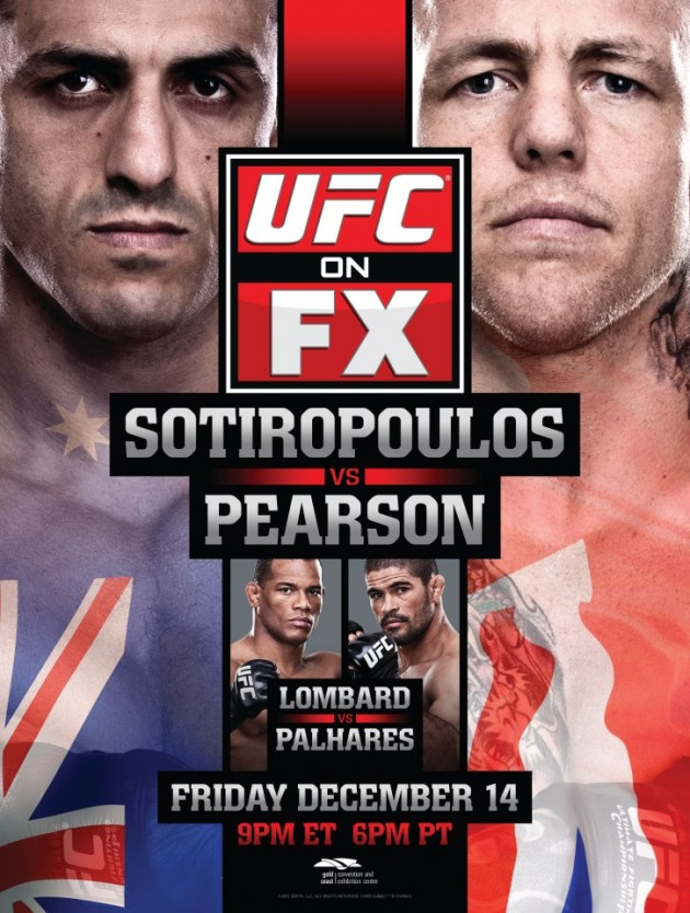 UFC on FX 6 poster