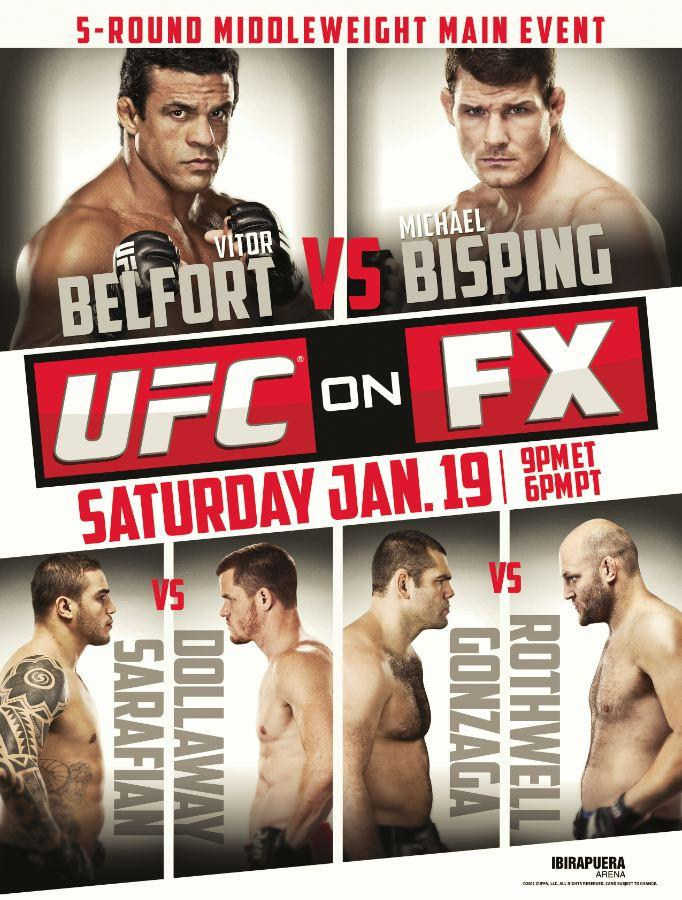 UFC on FX 7 poster