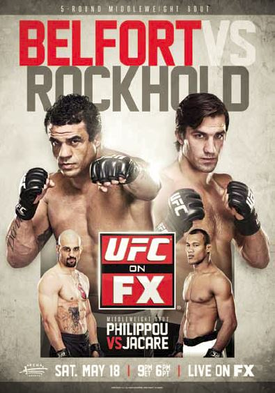 UFC on FX 8 Poster