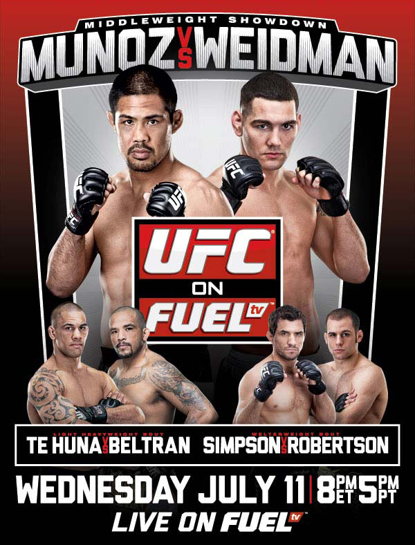 UFC on Fuel 4 poster
