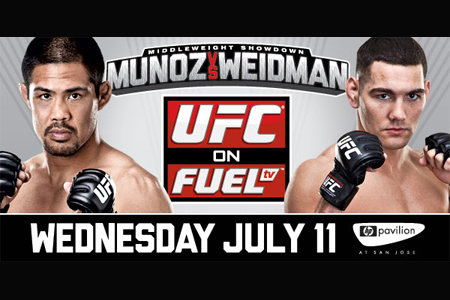 UFC on Fuel TV 4 poster