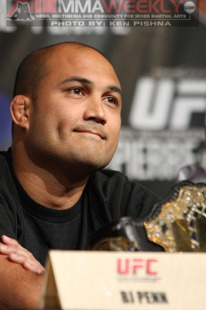 BJ Penn at UFC 94