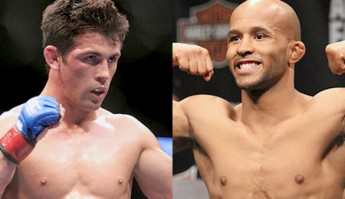 """Dominick Cruz and Demtrious """"Mighty Mouse"""" Johnson"""