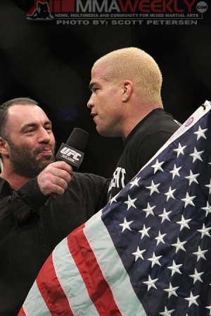 Joe Rogan and Tito Ortiz
