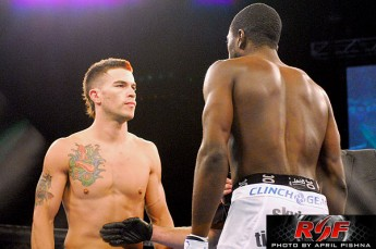 Brandon Thatch and Chidi Njokuani at Ring of Fire 41