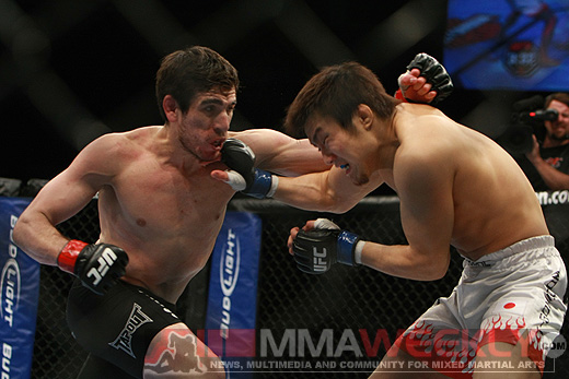 Kenny Florian and Takanori Gomi at UFC Fight Night 21
